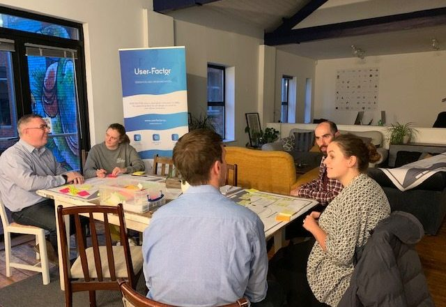 Pilot Session for Design Support – the Innovation Lab in Northern Ireland